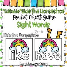 Alphabet Numbers Chart March Pocket Chart Game Bundle Alphabet Numbers Sight Words