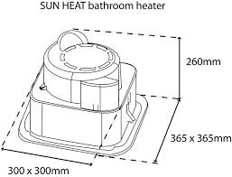 heat light c w extractor fan white instructions 520kb · hlf1f line drawing