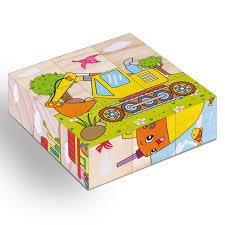 <b>High Grade Six face</b> Picture Wooden Jigsaw 3D Puzzle Toys ...