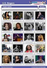 american pop singers picture quiz round pr1591