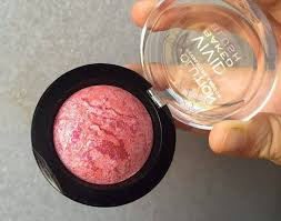 makeup revolution london baked blush in loved me the best