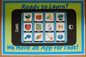 computer lab bulletin board ideas for elementary students. Computer Lab · Technology Bulletin Board | Ready To Learn? We Have An App For That! |. BoardsSchool Ideas Elementary Students G