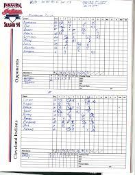 Baseball Game Scorecard The Lost Art Of The Baseball Scorecard Newscut Minnesota