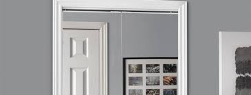 bifold closet doors give you access to the full closet width allowing you to view the entire contents of your closet at once a stylish alternative to