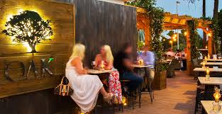 a new garden restaurant with charm and elegance
