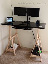 DIY Standing Desk Kit - The Adjustable Hight Standing Desk / Stand-Up Desk  Conversion