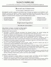 referral coordinator resume