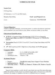 Resume+Format+for+B+Tech+CSE+Students