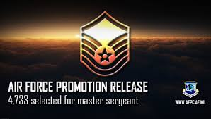 Air Force Releases Master Sergeant 19e7 Promotion Cycle