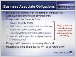 Hipaa For Business Associates