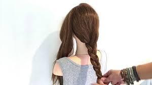 ロングヘアの簡単ヘアアレンジ Youtube