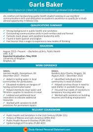 Study Abroad Resume Sample Study Abroad Resume Sample By Studyabroadresume On Deviantart