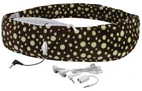 amazoncom  lullabelly prenatal music belt  chocolate brown