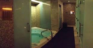 stillwater spa at the hyatt sauna jacuzzi steam room showers