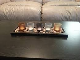 Wooden Trays To Decorate Furniture Top Coffee Table Decorating Ideas With Light Candle In 42