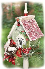 LemonCraft Christmas Bird House