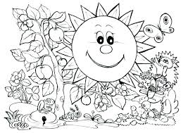Coloring Pages Of Nature Coloring Book Themes Stampsnowinfo