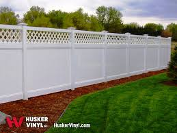 Vinyl Privacy Fence Husker Vinyl Inc