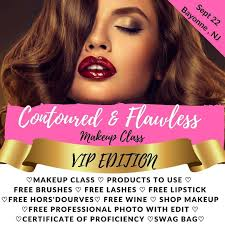 contoured and flawless makeup cl vip tickets in bayonne nj united states