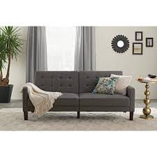 Old Couches Mainstays Memory Foam Futon Multiple Colors Walmartcom