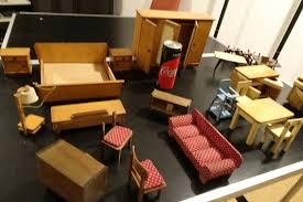Puppenstubenmöbel Antik Wohn U Schlafzimmer Mehrteilig Küche