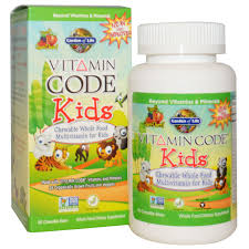 garden of life vitamin code kids chewable whole food multivitamin for kids cherry berry 60 chewable bears