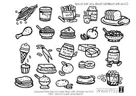 Food Web Coloring Pages Food Web Coloring Pages Camping Chain
