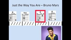 Just The Way You Are Moving Chord Chart