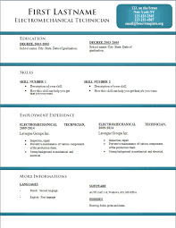 Latest Resume Templates Free Download Resume Format Template Free