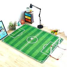 football field area rug amazing ideas for blue couch soccer awesome as pertaining to 20