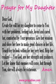 Love My Daughter Quotes Custom Prayer For My Daughter Quotes I Love Pinterest Campaign