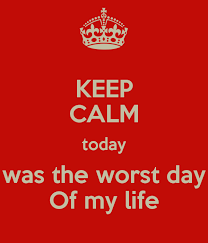 an essay about the worst day of my