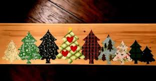 Creative christmas tree toppers ideas try Ribbon Christmas Tree Lane Sign Cricut Project Blowing Away Out West Christmas Tree Lane Sign Cricut Project Blowing Away Out West