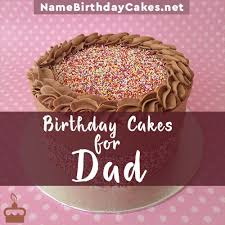 Happy Birthday Cakes For Father With Name