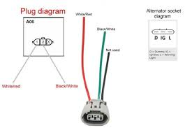 mitsubishi alternator wiring schematic wiring diagram alternator wiring diagram nissan image