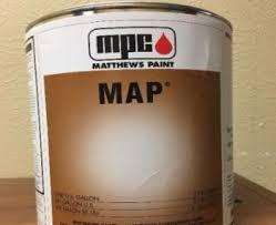 Map Factory Packs Matthews Paint 41 342sp Brushed Aluminum