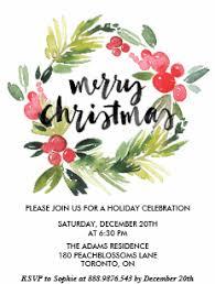 Holiday Party Invitations | Zazzle