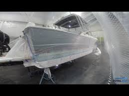 boat painting 101 spray painting the waterline finishing touches you