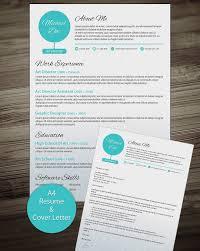 Modern Resume Cover Letters Modern Resume Template Free Resume And Cover Letter Templates Cover