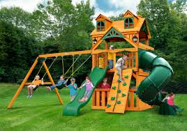 Wooden Outdoor Playsets | Playsets at Walmart | Gorilla Playsets
