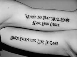 Best Tattoo Quotes Mesmerizing 48 Best Friend Tattoos For BFFs