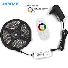 <b>Ikvvt</b> Dc12v 5050 Led Strip Waterproof <b>Rgb Led</b> Light <b>5m</b> 10m 15m ...