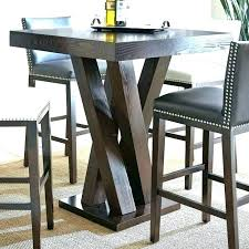 gathering height outdoor dining sets high end outdoor dining sets gathering height round table 9 piece gathering height