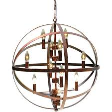 wrought iron sphere chandelier wrought iron antique bronze light globe chandelier wrought iron orb chandelier wrought