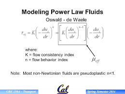 non newtonian fluid examples. modeling power law fluids non newtonian fluid examples