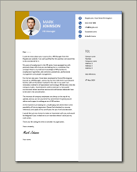 hr manager cover letter human