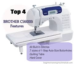 Brother Sewing Machine Model Cs6000i
