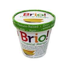 brio tropical mango ice cream
