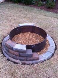do it yourself fire pit ideas. easy diy fire pit i have most of the material on hand. bet do it yourself ideas