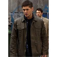 supernatural dean winchester green jacket
